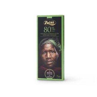Σοκολάτα Ιταλική 80% κακάο 75gr Zaini Milano