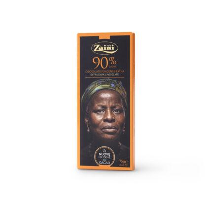Σοκολάτα Ιταλική 90% κακάο 75gr Zaini Milano
