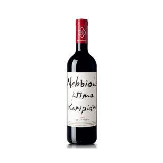 Κτήμα Καριπίδη Nebbiolo 2010 οίνος ερυθρός ξηρός 750ml