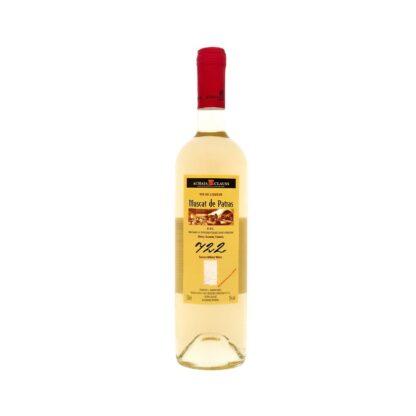 Μοσχάτο Αχαΐα Κλάους 750ml 2018 γλυκός λευκός οίνος