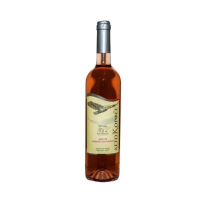 Αετοκορφές Οινοποιείο Καρανικόλα 750ml οίνος ροζέ ξηρός