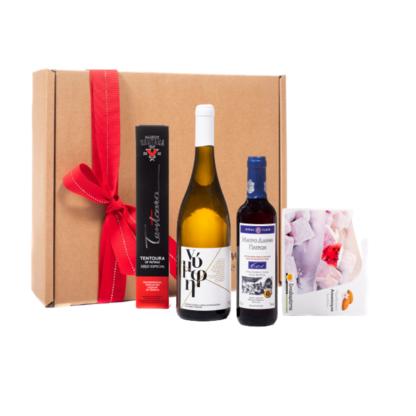 Εταιρικό δώρο - Προϊόντα της Πάτρας x 4