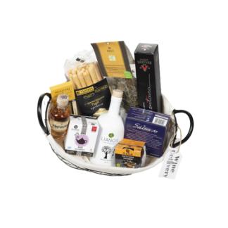 Καλάθι δώρων με 11 ελληνικά μοναδικά προϊόντα